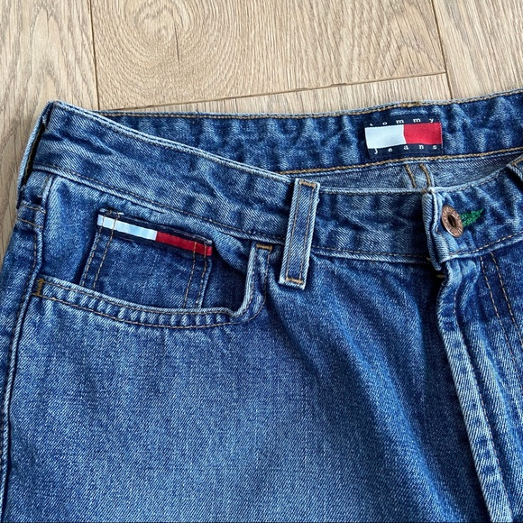 Vintage Tommy Hilfiger High Rise Euro Flare Jeans